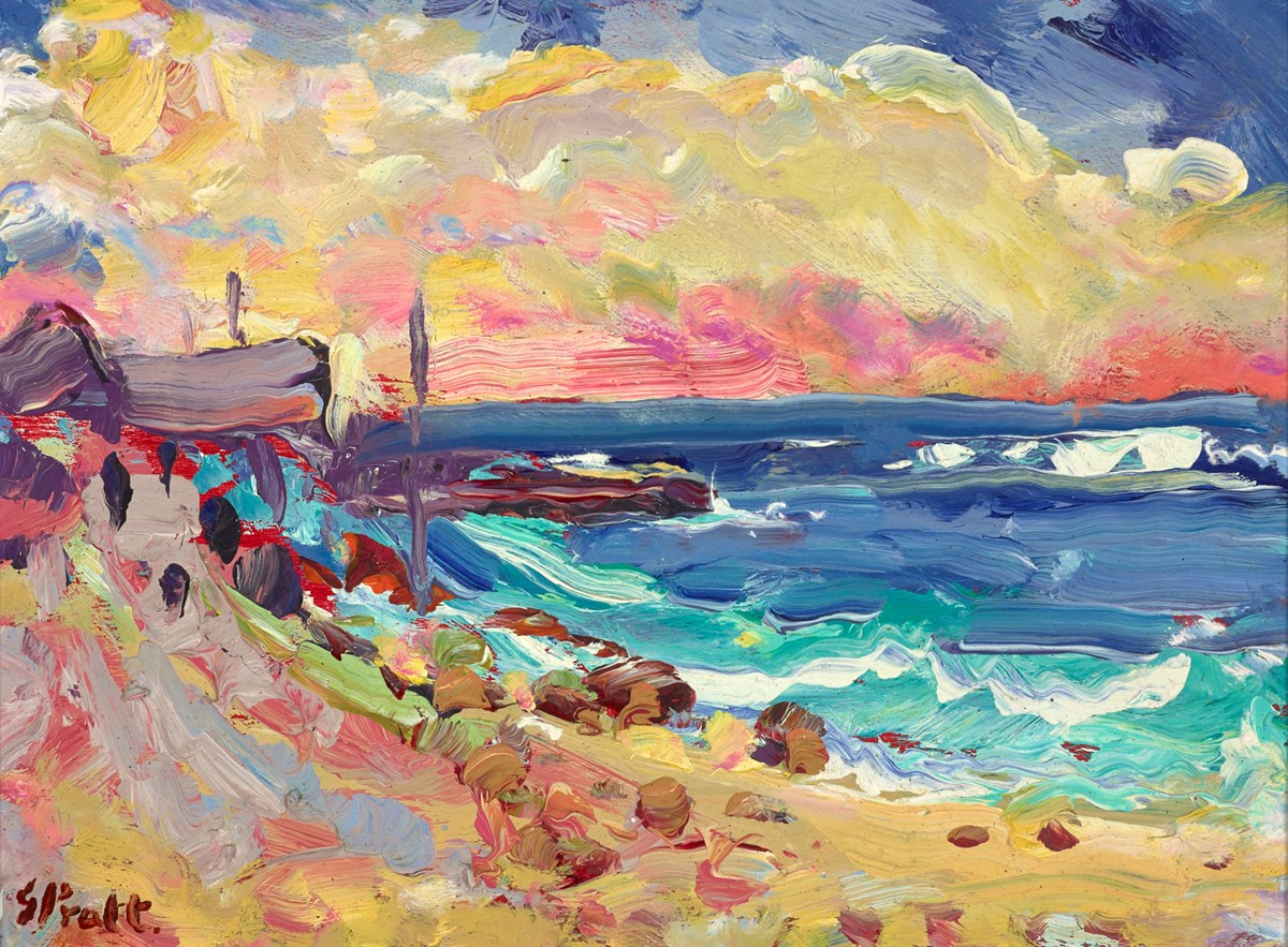 Late Evening, Sennen Cove by jeffrey pratt -  sized 12x9 inches. Available from Whitewall Galleries